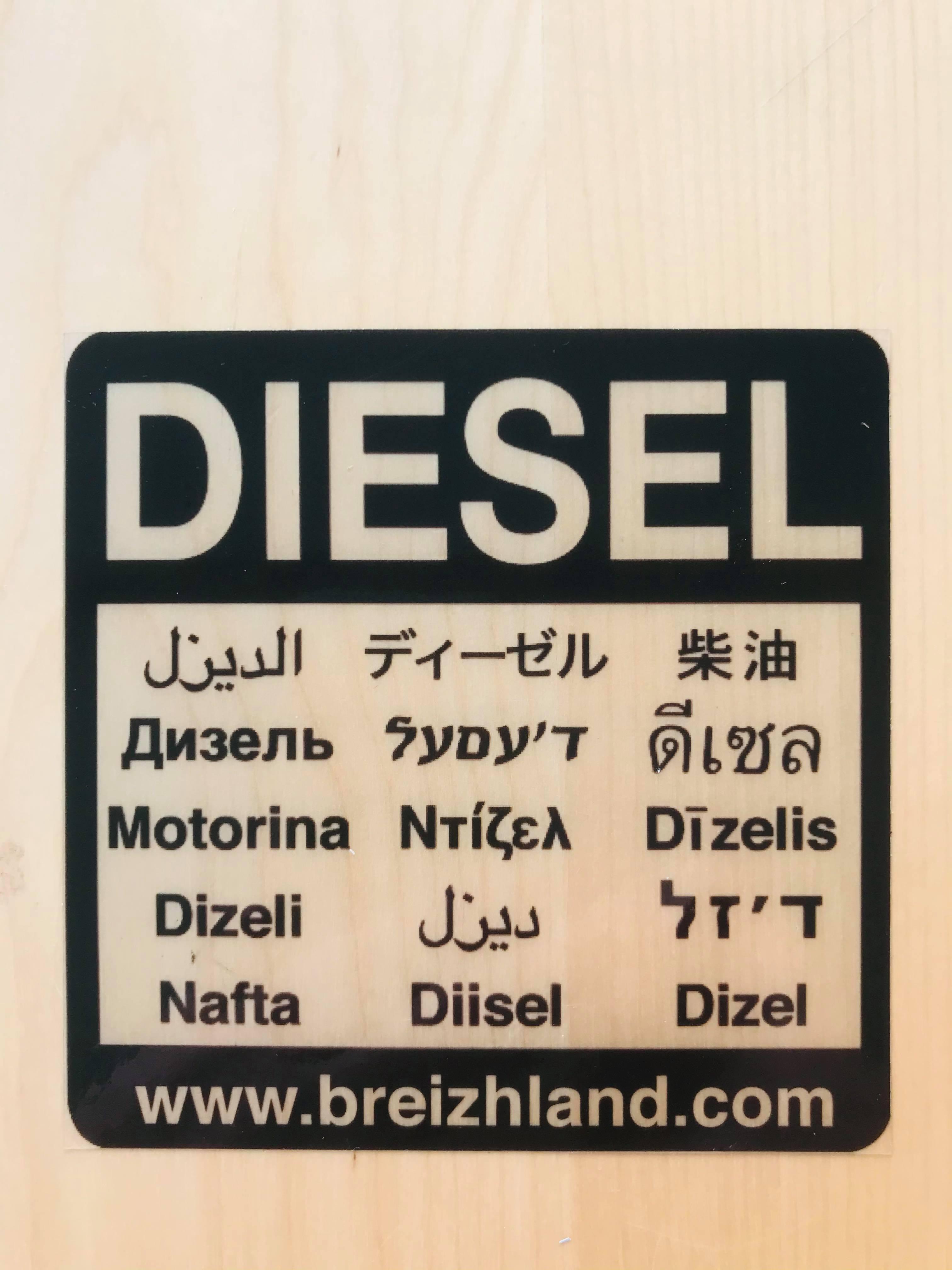 Sticker Diesel